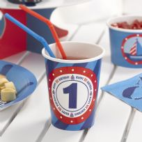 Ahoy There 1st Birthday Cups (8)